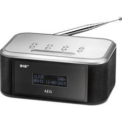 AEG MRC 4148 radijska ura ukw črna, srebrna