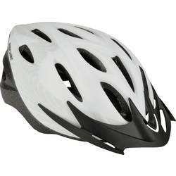 Fischer Fahrrad White Vision S/M Mestna čelada Bela, Črna Velikost oblačila=M