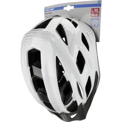 Fischer Fahrrad Urban Lano S/M MTB-Čelada Bela, Črna Velikost oblačila=M