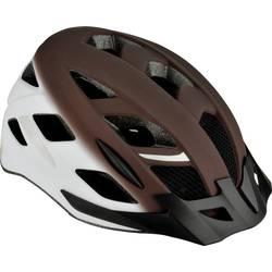 Fischer Fahrrad Urban Retro S/M MTB-Čelada Rjava, Bela Velikost oblačila=M