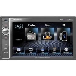Phonocar VM069E Navigationsenhed, fastmontering Europa Håndfrit Bluetooth®-system, inkl. fjernbetjening