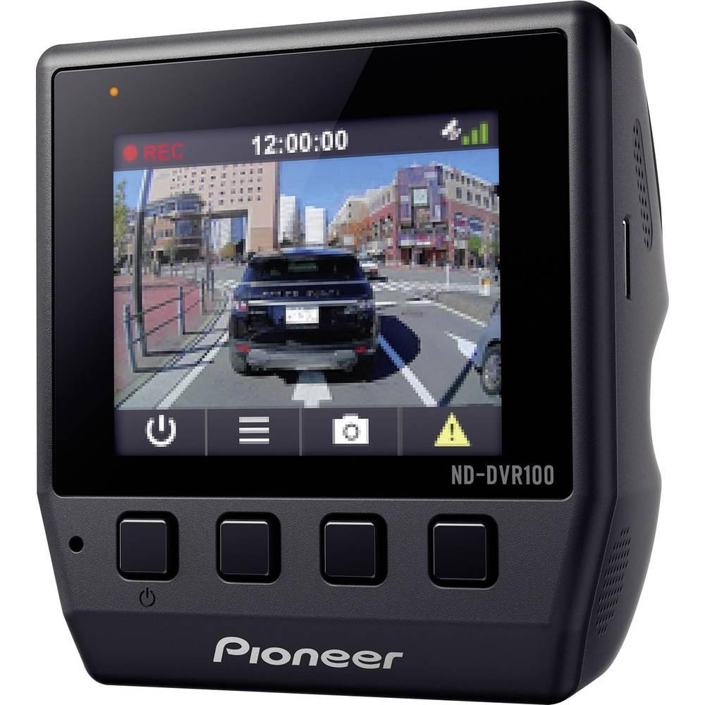 Pioneer ND-DVR100 avtomobilska kamera z gps-sistemom Razgledni kot - horizontalni=114 ° 12 V zaslon, mikrofon, akumulator