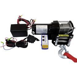 Vitel vlečna moč (navitja)=2722 kg Berger & Schröter 31779 brezžični daljninski upravljalnik, vklj. okence z valji