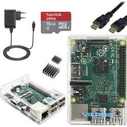 Raspberry Pi 3 Model B Vilros Starter Kit 1 GB inkl. OS Noobs
