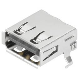 Weidmüller USB2.0A S1H 1.4N4 RL BK USB 2.0 kontakt hona A Silver 200 st