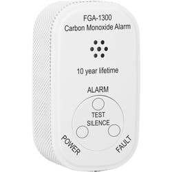 Smartwares FGA-13000 detektor ogljikovega monoksida vklj. baterije z 10 letno življenjsko dobo, z notranjim senzorjem baterijsko