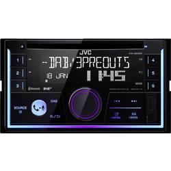 JVC KWDB93BT-ANT dvojni DIN avtoradio, vklj. DAB antena, DAB+ Tuner, Bluetooth® prostoročno telefoniranje, priključek za vol