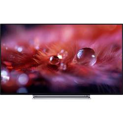 LED TV 139 cm 55 Toshiba 55U5766DA EEK A+ DVB-T2, DVB-C, DVB-S, UHD, Smart TV, WLAN črne barve