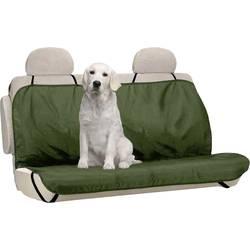 Berger & Schröter 31804 zaščitna odeja za pse, poliester, zelene barve, za zadnje sedeže
