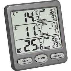 TFA TRIO brezžični termometer antracit barve