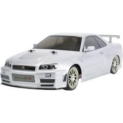 Tamiya Nismo R34 GT-R Z-Tune krtačni 1:10 RC model avtomobila na daljinsko vodenje, cestni model, pogon na vsa kolesa, komplet z
