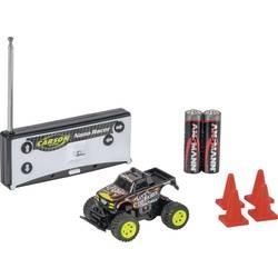 Carson RC Sport 500404184 Nano Racer Little Foot 1:60 RC model avtomobila na daljinsko vodenje, Monstertruck, na zadnji pogon, v