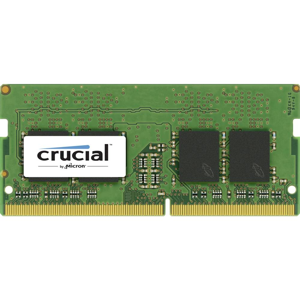 Delovni pomnilnik za prenosnik - komplet Crucial CT4G4SFS824A 4 GB 1 x 4 GB DDR4-RAM 2400 MHz CL 17-17-17