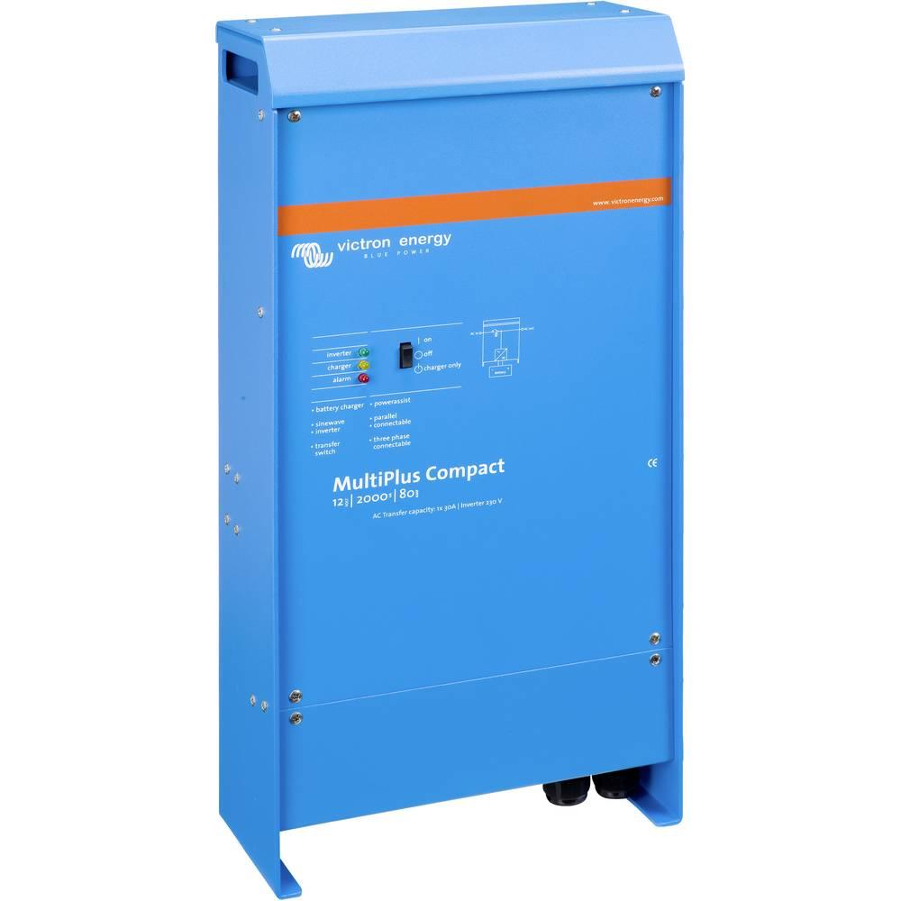 Victron Energy MultiPlus C 12/2000/80-30 omrežni razsmernik 2000 W 12 V/DC - 230 V/AC vgrajen regulator polnjenja