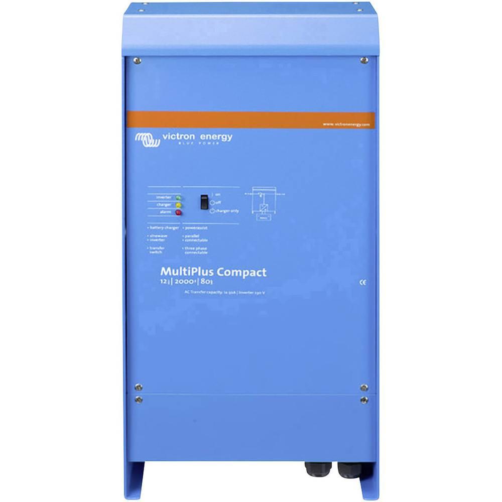 Victron Energy MultiPlus C 24/2000/50-30 omrežni razsmernik 2000 W 24 V/DC - 230 V/AC vgrajen regulator polnjenja