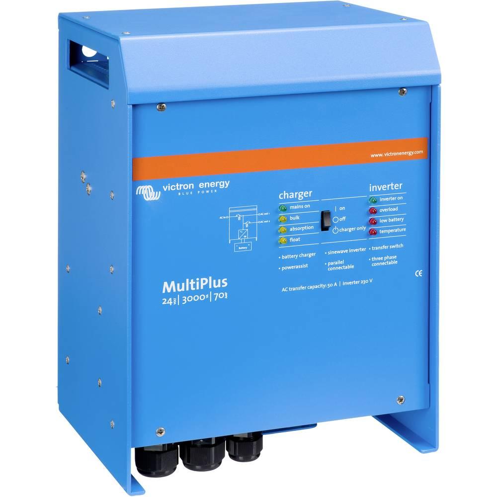 Strømvekselretter Victron Energy MultiPlus 24/3000/70-50 3000 W 24 V/DC Kabel