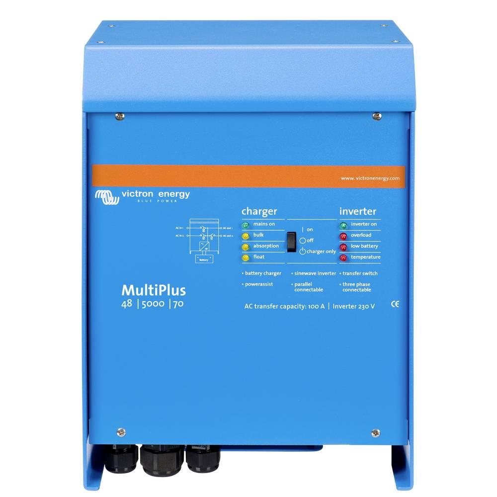 Victron Energy MultiPlus 48/5000/70-100 omrežni razsmernik 5000 W 48 V/DC - 230 V/AC vgrajen regulator polnjenja