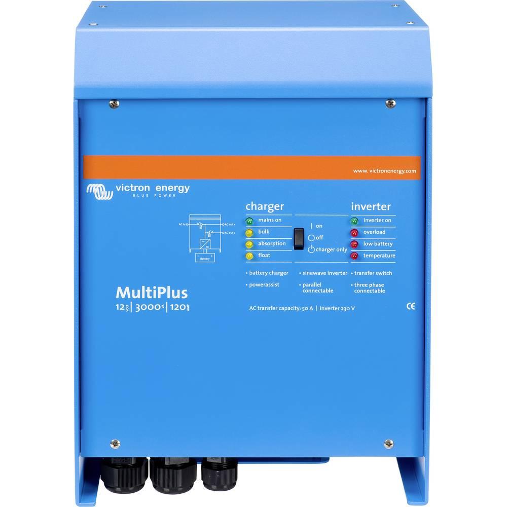 Victron Energy MultiPlus C 12/3000/120-50 omrežni razsmernik 3000 W 12 V/DC - 230 V/AC vgrajen regulator polnjenja