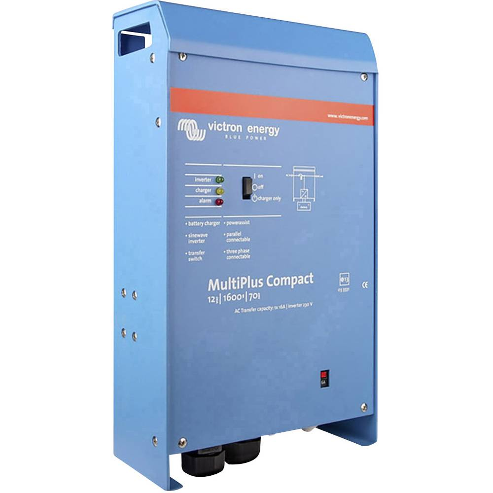 Victron Energy MultiPlus C 24/1600/40-16 omrežni razsmernik 1600 W 24 V/DC - 230 V/AC vgrajen regulator polnjenja