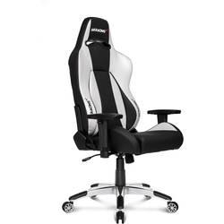 Gaming-stol AKRACING Premium V2 Silver, Svart
