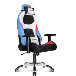 Gaming-stol AKRACING Premium Style V2 Blå, Vit, Svart, Röd