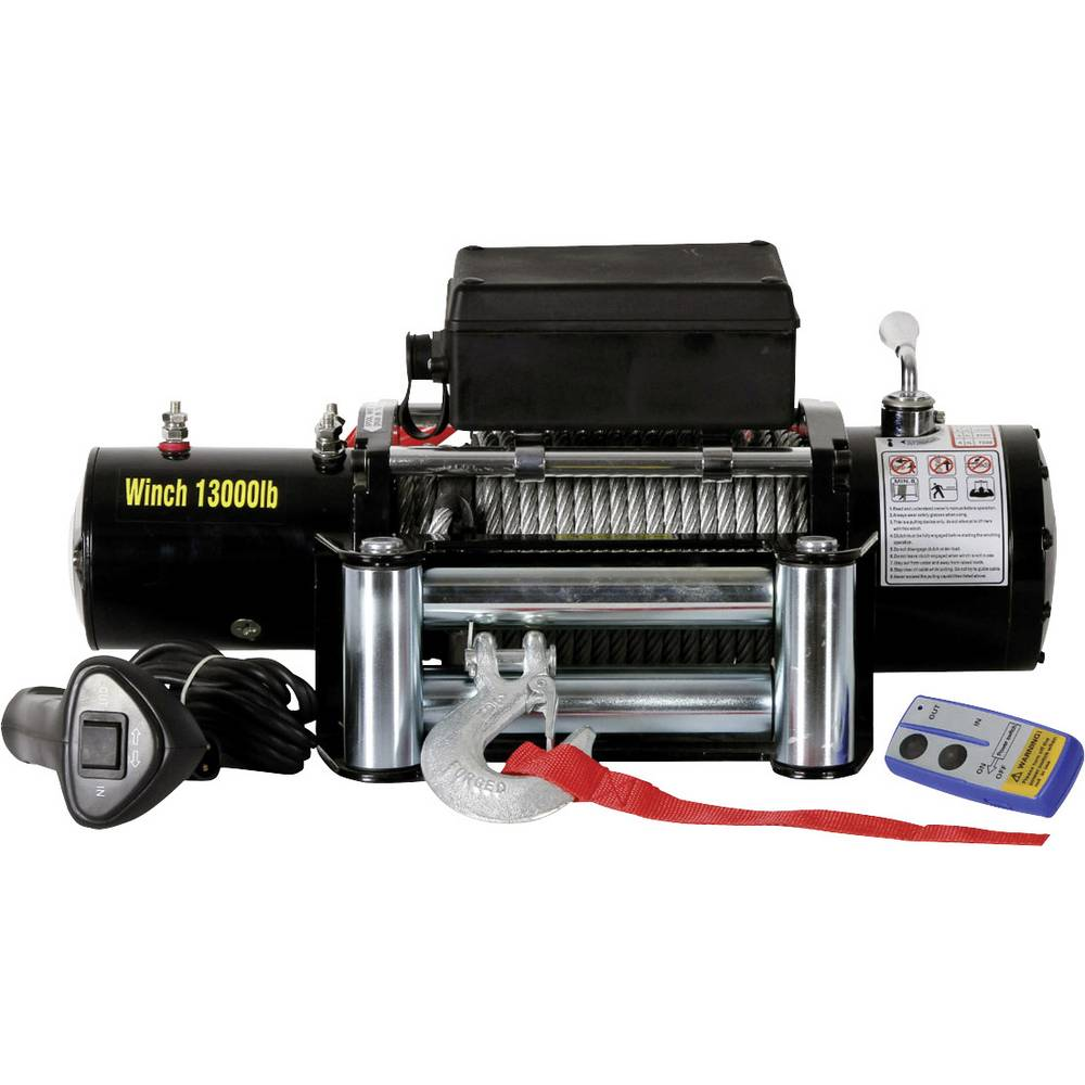 Vitel vlečna moč (navitja)=11800 kg Berger & Schröter 31807 brezžični daljninski upravljalnik, vklj. okence z valji, kabeljski d