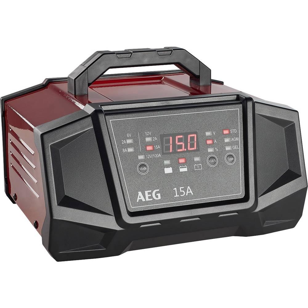 Oplader AEG Werk WM15/100A 158009 12 V, 6 V 8 A 15 A