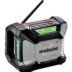 FM Byggradio Metabo R 12-18 BT Bluetooth Svart, Grön, Grå