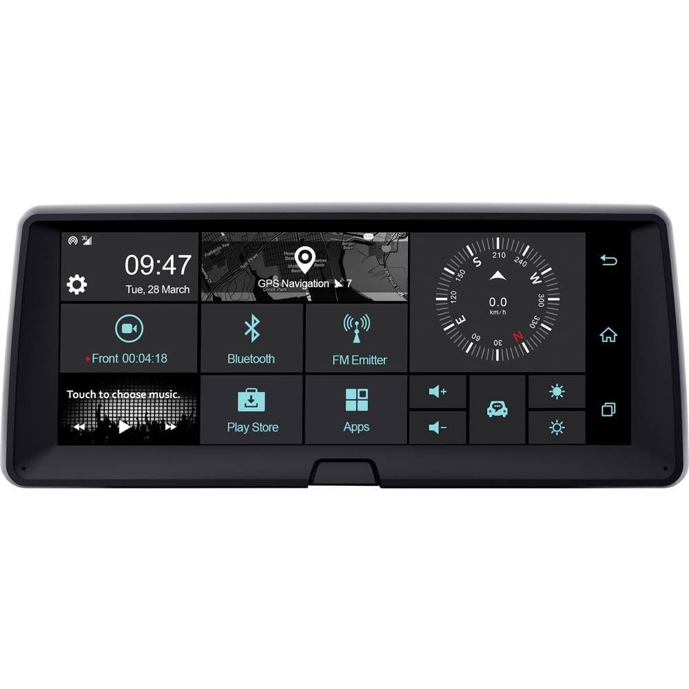 Phonocar VM321 Dashboard Multimediasystem avtomobilska kamera z gps-sistemom WLAN, zaslon na dotik, zaslon, mikrofon