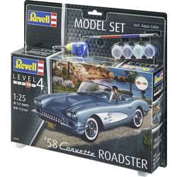 Revell 67037 58 Corvette Roadster model avtomobila, komplet za sestavljanje 1:25