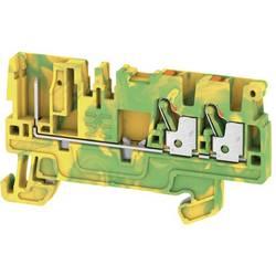 Prizemlje priključni blok APGTB 2.5 PE 3C/1 1513890000 Zeleno-žuta Weidmüller 50 ST