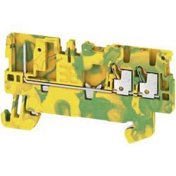 Prizemlje priključni blok APGTB 1.5 PE 3C/1 2482230000 Žuto-zelena Weidmüller 50 ST