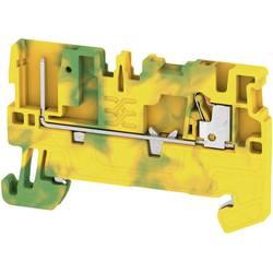 Prizemlje priključni blok APGTB 1.5 PE 2C/1 2482220000 Žuto-zelena Weidmüller 50 ST