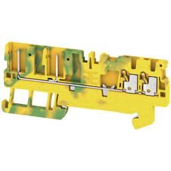 Prizemlje priključni blok APGTB 1.5 PE 4C/2 2482240000 Žuto-zelena Weidmüller 50 ST