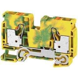 Prizemlje priključni blok A2C 10 PE 2490440000 Zeleno-žuta Weidmüller 25 ST