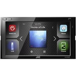 JVC KWM540BT dvojni DIN avtoradio, Bluetooth® prostoročno telefoniranje, priključek za volanski daljinski upravljalnik