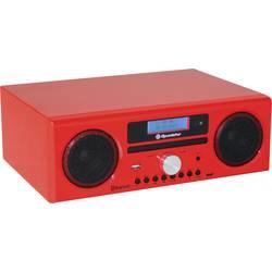 DAB+ Bordsradio Roadstar HRA-9D+BT Röd