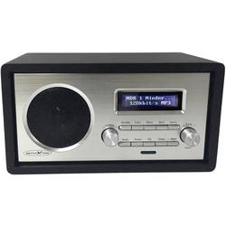Reflexion HRA1260i spletni namizni radio internet aux, WLAN, internetni radio podpira DLNA črna