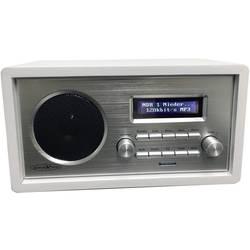 Reflexion HRA1260i spletni namizni radio internet aux, WLAN, internetni radio podpira DLNA bela