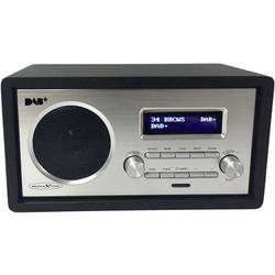 Reflexion HRA1255DAB namizni radio DAB+, UKW aux črna