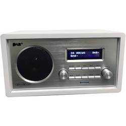 Reflexion HRA1255DAB namizni radio DAB+, UKW aux bela