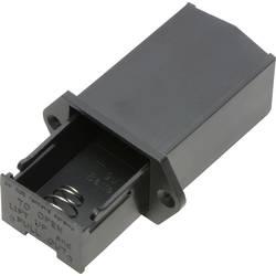 Baterije - držač 1x 9 V Block Lemni priključak TRU COMPONENTS SBH-9V-COM