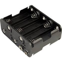 Baterije - držač 10x Mignon (AA) Snap priključak TRU COMPONENTS 310-1B