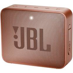 Bluetooth zvučnik JBL Go2 aux, funkcija govora slobodnih ruku, vanjski, vodootporan crvena, smeđa boja