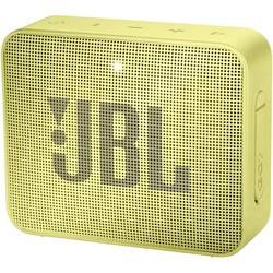 Bluetooth zvučnik JBL Go2 aux, funkcija govora slobodnih ruku, vanjski, vodootporan žuta