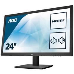 AOC E2475SWJ led zaslon 59.9 cm (23.6 palac) Energetska učink. A (A+ - F) 1920 x 1080 piksel Full HD 1 ms HDMI™, vga, dvi,