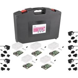 Komplet za učionicu Raspberry Pi® 3B+ (svaki 5 x R3B+, kofer, kućište, adapter za napajanje, 16GB MSD, HDMI kabel, hladnjak)