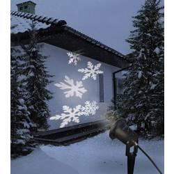 LED projektor, snežinke, bele, LED Polarlite LP-100 črne barve mat
