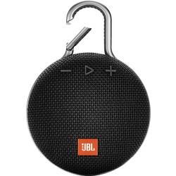Bluetooth zvučnik JBL Clip 3 funkcija govora slobodnih ruku, vanjski, zaštićen protiv prskajuće vode crna