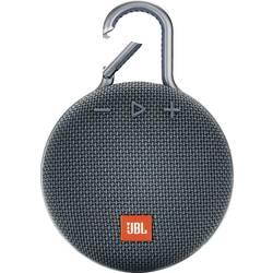Bluetooth zvučnik JBL Clip 3 funkcija govora slobodnih ruku, vanjski, zaštićen protiv prskajuće vode plava boja